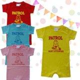 出産祝い 赤ちゃん プレゼント ライフセーバー LIFESAVINGデザイン ベビー半袖ロンパース