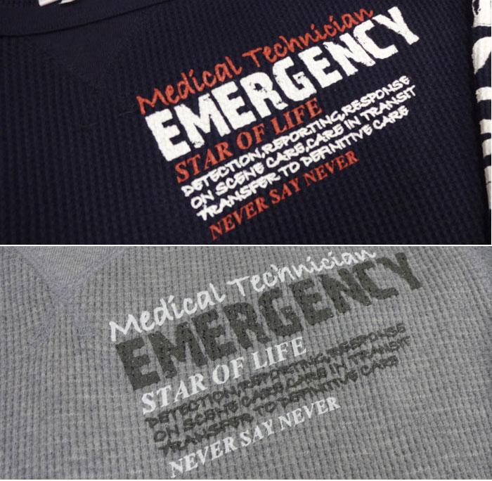 GUARD EMT長袖 ヘビーワッフルロングTシャツ