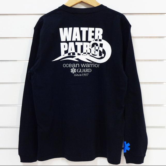 WATER PATROL オーシャンマンデザイン長袖 ヘビーウェイトロンT