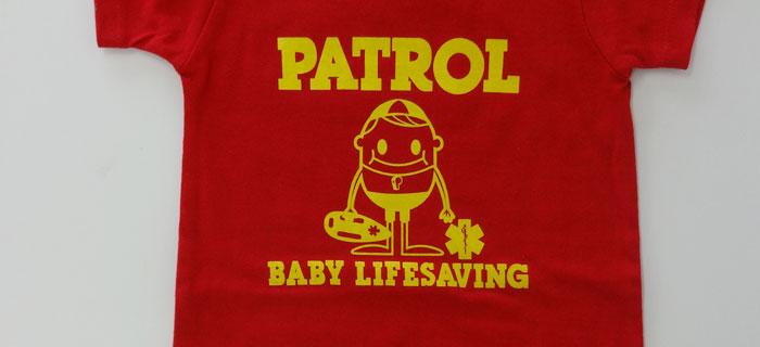 海 湘南 GUARD ガード ライフガード ライフセービング ウォーターパトロール ベビー服 カバーオール 赤ちゃん かわいい 出産祝い