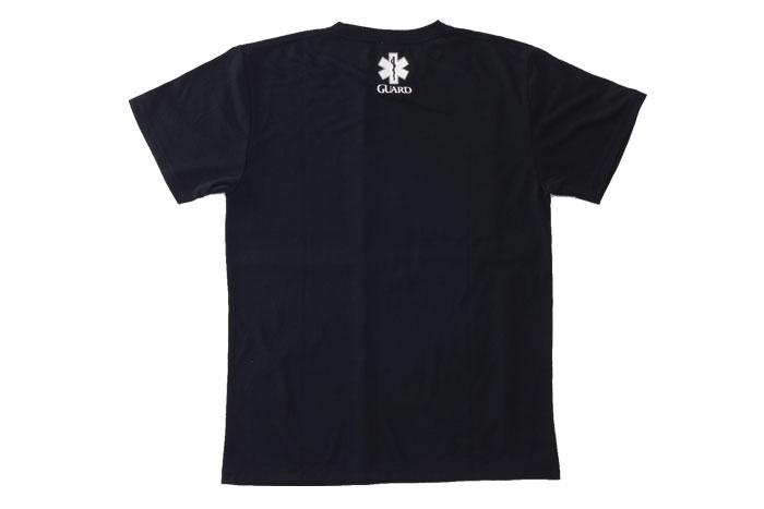 ブラックTシャツデザイン、ガード(海での監視業務)やウォーターパトロールにぴったり。