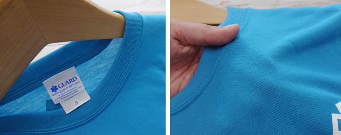 ★吸汗速乾★綿Tシャツのようなやわらかい着心地・UVカット