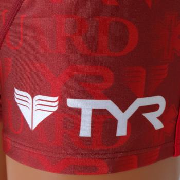 水着 メンズ 男性水着 ショートボクサー ボクサーパンツ ライフセーバー オープンウォーター トライアスロン スポーツクラブ フィットネス GUARD ガード TYR ティア スターオブライフ STAR OF LIFE