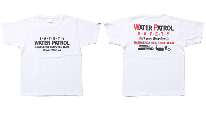 guard ガード ウォーターパトロール 綿Tシャツ ハイグレードTシャツ スターオブライフTシャツ S-222