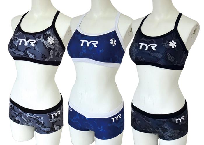 tyr(ティア)(ティーワイアール) STAR OF LIFE(スターオブライフ) 水着 レディース サイズ 練習用水着 ビキニ オーシャンスポーツ ヨガ トライアスロン ライフガード オープンウォータースイミング ビーチテニス