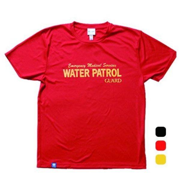 画像1: WATER PATROLデザイン ドライTシャツ (1)