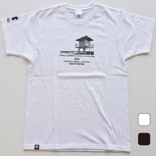 画像1: ライフガードタワー綿100% TシャツS-234 (1)