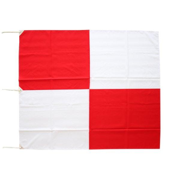 画像1: 【お取り寄せ】津波フラッグ / 津波等伝達旗 (1)