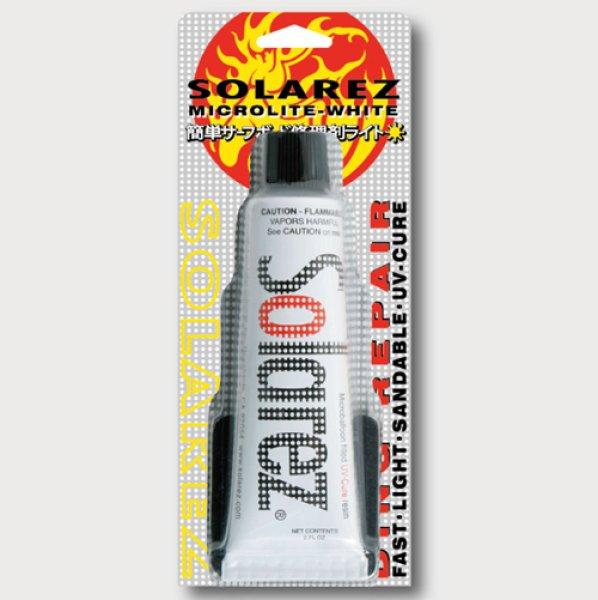 画像1: 【お取り寄せ】WAHOO ソーラーレズ マイクロライトホワイト 2.0 oz(57g)/紫外線で硬化する簡易修理剤 (1)