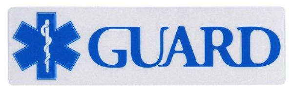 画像1: GUARDステッカー横(小) (1)