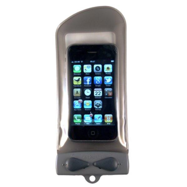 画像1: お取り寄せ【キャンプ 海水浴 プール 水辺レジャー】防水ケース アクアパック 携帯電話 GPS iPhone1-5適合サイズ ケース (1)