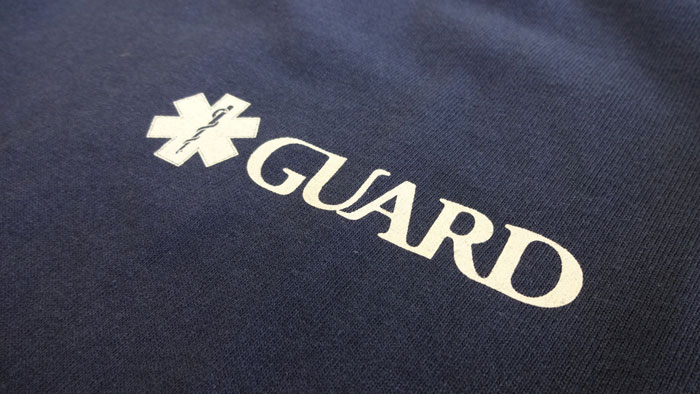 GUARDマリンレスキュー ライフガードデザインTシャツ
