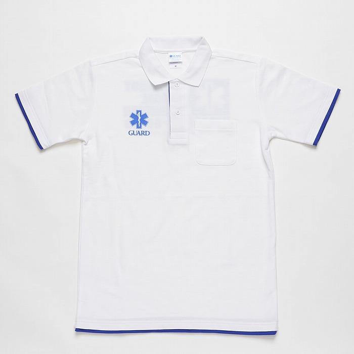 EMT救急救命士 レイヤードポロシャツ
