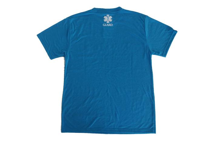 ターコイズTシャツデザイン、ガード(海での監視業務)やウォーターパトロールにぴったり。
