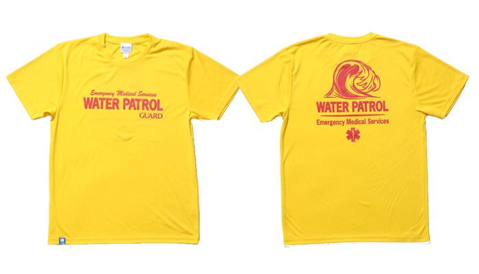 guard ガード WATER PATROLデザイン ドライTシャツ 軽くて涼しいTシャツ