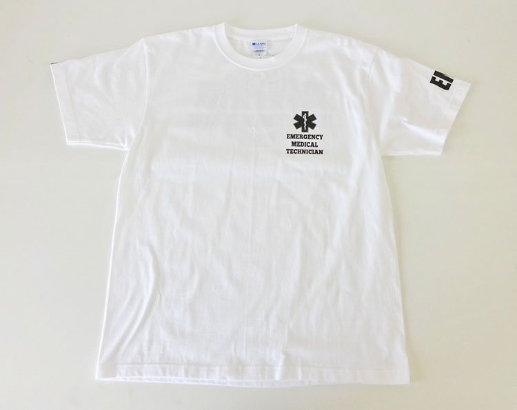 GUARD 綿100%Tシャツ EMT WATERPATROL