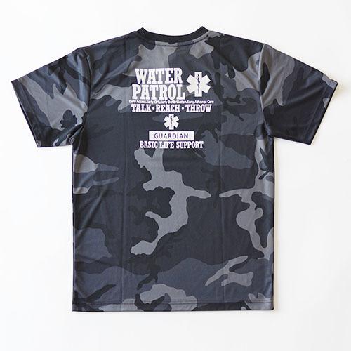 ドライアスレチック カモフラージュドライTシャツ WATERPATROL
