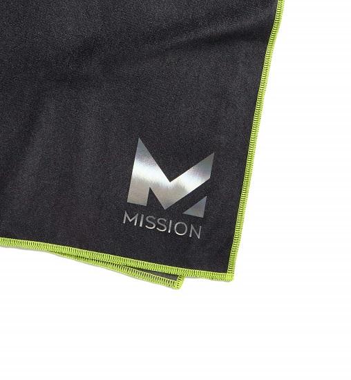 MISSIONのロゴのアップ
