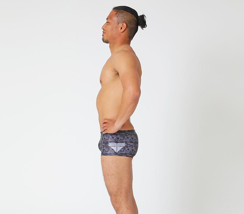 男性水着 GUARD×TYR ライフセーバー 園田俊モデル カモフラデザイン【メンズ ボクサー】
