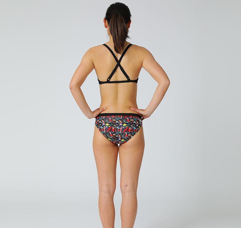 女性水着 GUARD×TYR ライフセーバーデザイン レディース ワークアウトビキニ セパレート