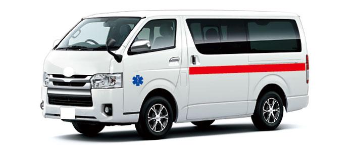 民間救急車 介護タクシー ステッカー