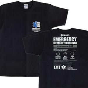 EMTスターオブライフ Tシャツ 救急救命士                                        [S-206]
